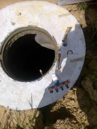 Подключение оборудования к колодцу