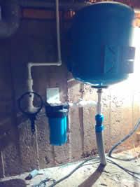 Подключение водоснабжения внутри помещения